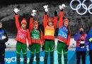 Женская сборная Беларуси по биатлону стала победительницей эстафеты на ОИ-2018