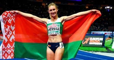 Пинчанка Эльвира Герман завоевала золото в беге с барьерами на Чемпионате Европы