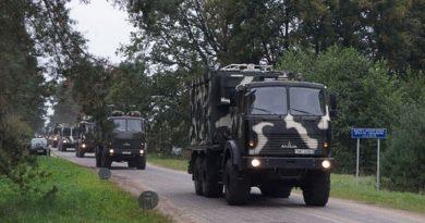 Минобороны предупреждает водителей о возвращении с учения колонн военной техники