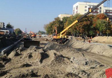 Движение по улице Брестской планируется открыть в ноябре