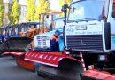 В Пинске создана комплексная группа по очистке города от снега и гололеда