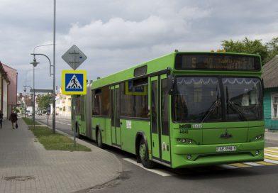 В Пинске изменится расписание городских автобусов
