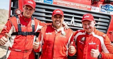 Ускользнувшая победа. Белорусы заняли 6-е и 8-е место в гонке грузовиков «Шелковый путь»