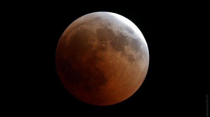 Лунное затмение увидят сегодня жители Беларуси