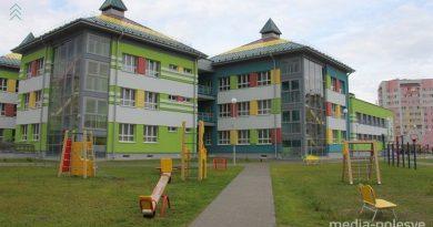 В Пинске открыли трехэтажный детсад за 7,7 миллиона рублей