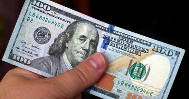 В Пинске выявлена суперподделка 100-долларовой банкноты